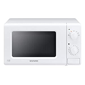 Daewoo Manual Control Microwave, 700 W, 20 Litre, White