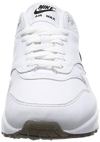 Nike Män Luft Max 1 Premium Sc Vit Svart 918.354-103 Vit, Svart