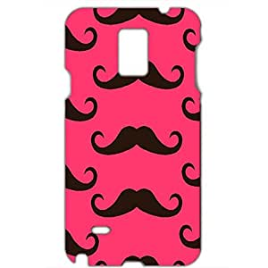 Cute Black Moustaches Phone Case Cute Cover for Samsung Galaxy Note 4