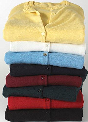 Averill's Sharper Uniforms Women's Ladies Fine Gauge Twin Sweater Set Medium White by Averill's Sharper Uniforms (Image #3)