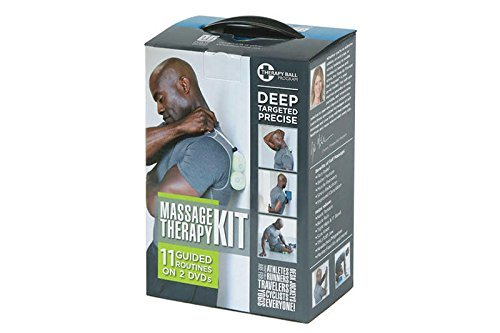 Tune Up Fitness Self-Massage Kit, 2 DVD Set and Yoga Tune Up Therapy Ball Pair, Teaches Trigger Point Therapy to Improve Mobility, Relieve Pain, Alleviate Stress, Create Myofascial Release by Tune Up Fitness
