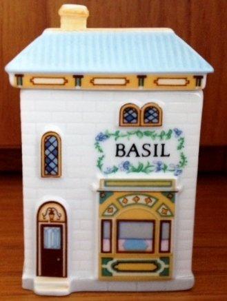 Lenox 'Spice Village' Porcelain Victorian House Spice Jar - Basil