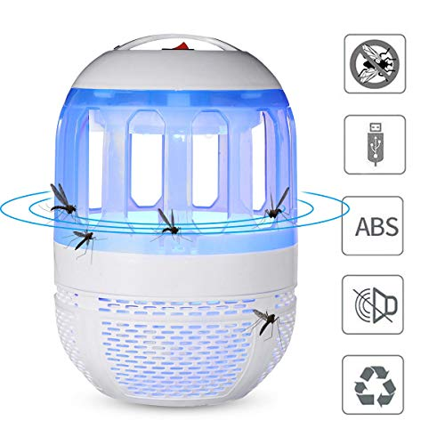 Travel Personnel Care Mosquito Killer - 2W Electronic Mosquito Killer Lamp USB Insect Killer Lamp Bulb Pest Trap For (Ccfl Cold Cathode Fluorescent Lamp)