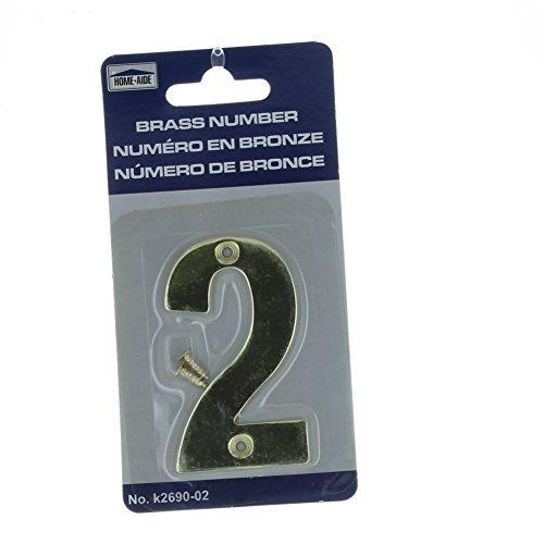 3 inch door numbers - 9