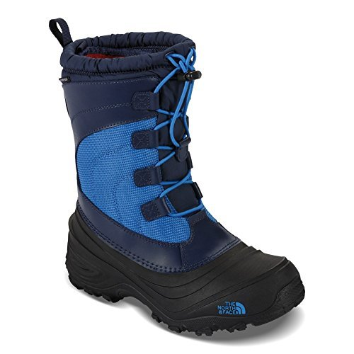 The North Face Alpenglow IV Boot Youth Cosmic Blue/Blue Aster 10 by The North Face