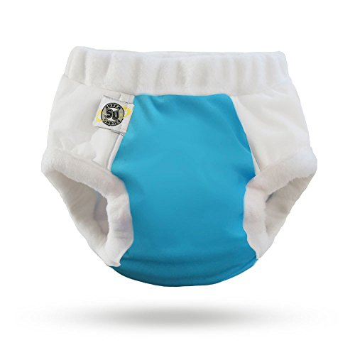 Cotton Nighttime Undies (Size 2 (4-6 yrs), Aqua) (6 Year Old Keeps Wetting The Bed)