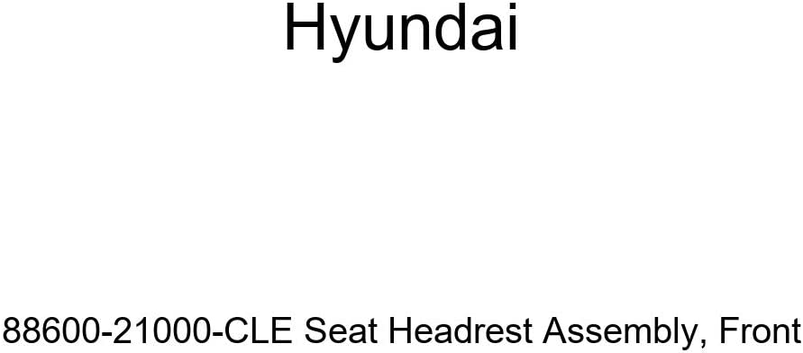Genuine Hyundai 88600-21000-CLE Seat Headrest Assembly Front