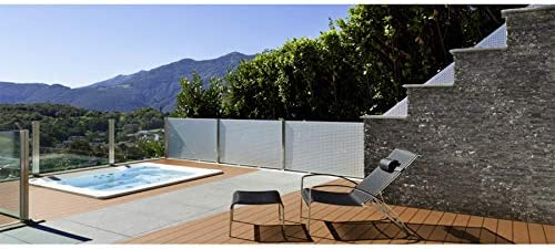 hellbraun Muster WPC Terrassendiele coextrudiert 22 x 143 mm 9,48 /€ // lfm Hohlkammerdiele