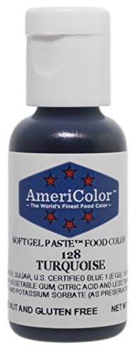 - Americolor Soft Gel Paste Food Color, Turquoise