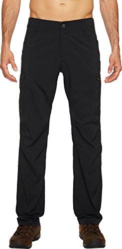 Columbia Mens Silver Ridge Stretch Pants, 32 x 30, Black