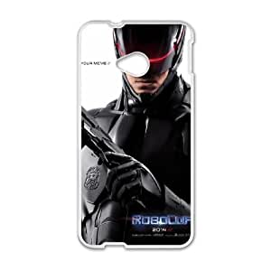 RoboCop HTC One M7 Cell Phone Case White phone component RT_184227
