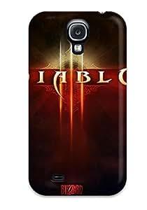 For Galaxy S4 Premium Tpu Case Cover Diablo Iii Protective Case