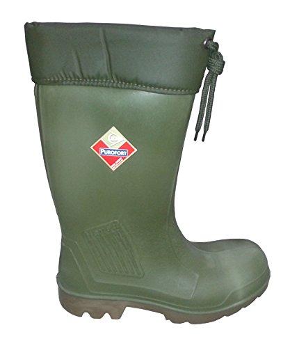 Polyurethan Stiefel S5 Größe 47 grün