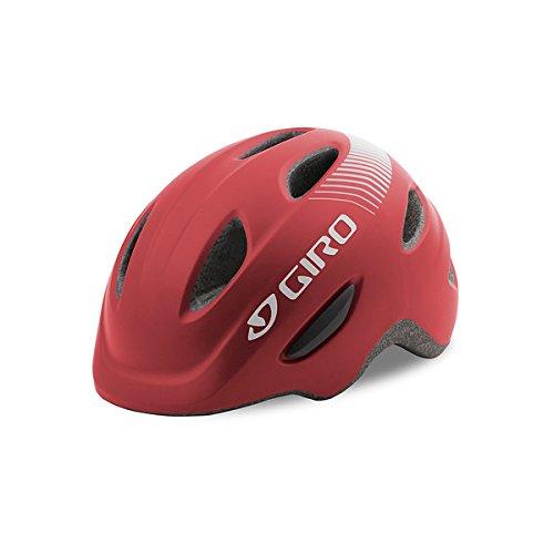- Giro Scamp Youth Bike Helmet Matte Dark Red S