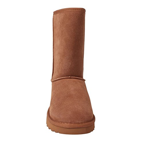 Fausse Tahoe Casual Bottines Femmes Forrure Hiver Daim Bottes Soulcal Snug qFnwax6P6H