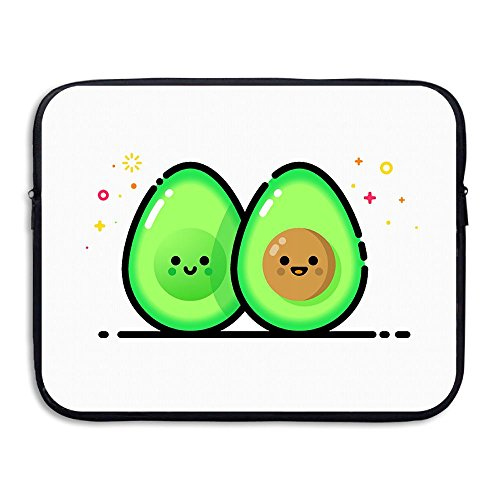 Cartoon Avocado Love Water Repellent Laptop Case Bags Printed Ultrabook Briefcase Sleeve Bags Cover For Macbook Pro/Notebook/Acer/Asus/Lenovo Dell 13 Inch (Halloween Salad Recipes)