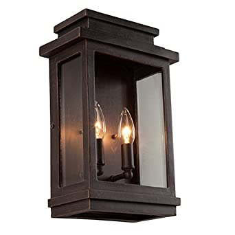 artcraft lighting fremont outdoor wall sconce oil rubbed bronze