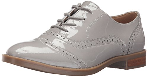 Franco Sarto Women's L-Imagine Oxford, Silky Grey, 7 Medium US
