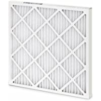 Filtration Group 10373 400 Series Standard Capacity Pleated Air Filter, Synthetic Media, White, 8 MERV, 16 Height x 25 Width x 1 Depth (Case of 12)