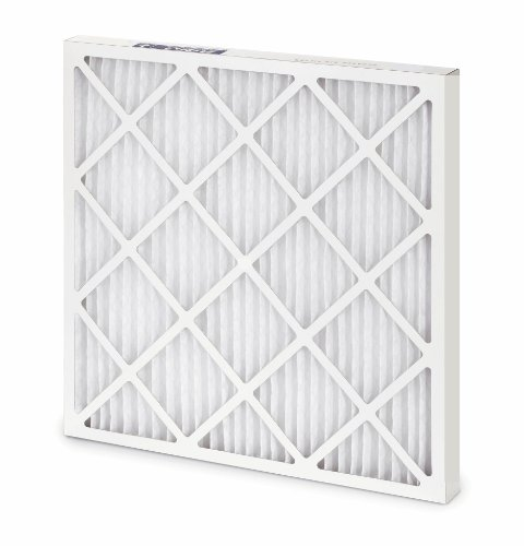 Filtration Group 10386 400 Series Standard Capacity Pleated Air Filter, Synthetic Media, White, 8 MERV, 16 Height x 25 Width x 2 Depth (Case of 12) by Filtration Group