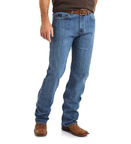 Wrangler Men's 20X Competition Active Flex Relaxed Fit Jean, Admiral Blue, 38X32