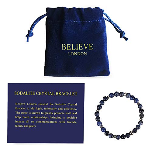 Believe London Sodalite Bracelet (6.5 Inch)