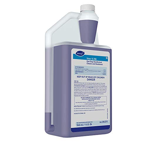 Diversey - 4331 Virex II 256 Broad Spectrum Disinfectant (32-Ounce, 6-Pack)
