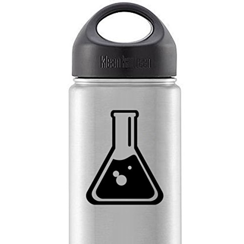 Chemistry Science Beaker - Vinyl Decal - Car Phone Helmet - SELECT SIZE