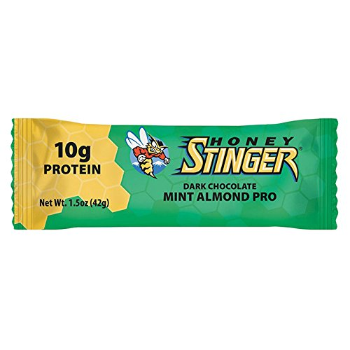 Honey Stinger Food Mint Protein Bar (Box of 15)