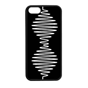 Arctic Monkeys Logo Cell Phone Hard Case for iPhone 5S Plastic & TPU (Laser Technology)