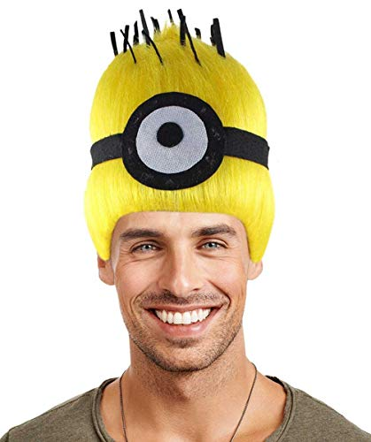 Halloween Party Online Wig for Cosplay Minions Carl Kids -