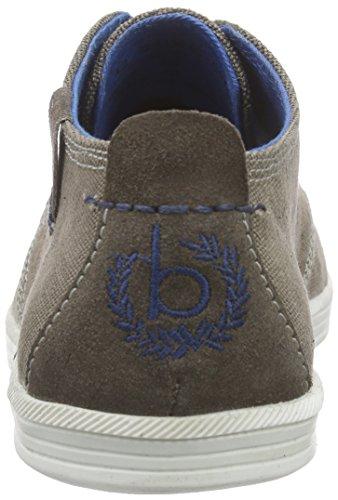 Bugatti 600 Brown D913063 Low Top Sneakers Men's Braun BqU4rxwB