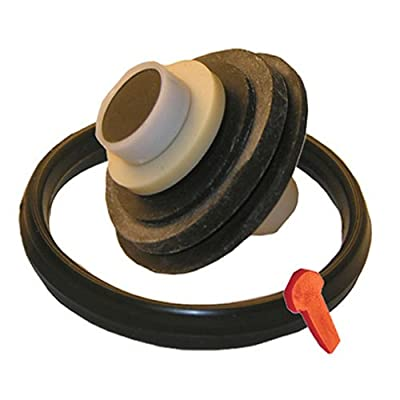 LASCO 04-7189 Toilet Ballcock Repair Kit with Plunger, Gasket and Locking Pin for Coast Brand Mark III