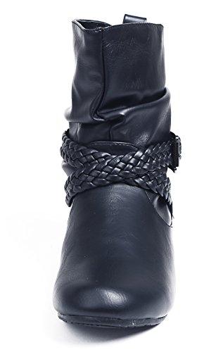 Boucle Imperm Shoes Hiver Bottes Enfiler AgeeMi Femme pxIwqUOxA