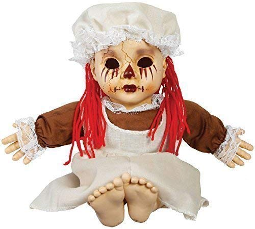 Spooky Sounds Tradgedy Rag Doll Halloween Fancy Dress Costume Outfit Accessory -