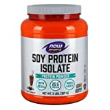 Now Foods Soy Protein Isolate (Natural Chocolate) - 2 lbs. 3 Pack