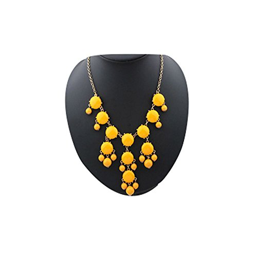 Darkey Wang Bubble Female Fashion New Necklace Resin Necklace(Oright)