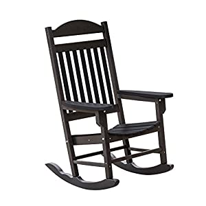 Little Cottage Company LCC-101 Heritage Traditional Rocker, Black