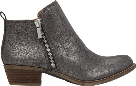 Brand Lucky Leather Boot Women's Basel Pewter Sd4wd0qx