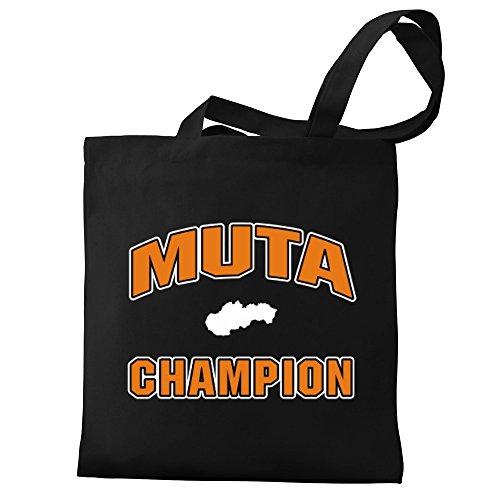 Eddany Muta champion Bereich für Taschen