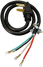 3 prong vs 4 prong dryer outlets what s the difference fred s coleman cable 09154 4 feet 30 amp 4 wire dryer power cord