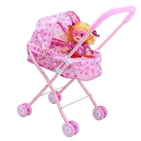 Carrito de bebé jugar juguete, juguete para niños, bebé Push & Pull carrito para