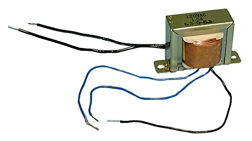Philmore 6 Volt AC 500 mA Power Supply Transformer With Center Tap; TR030