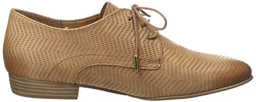 Tamaris 23304 - Zapatos Derby Mujer Marron (nut 440)