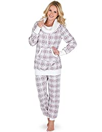 PajamaGram Women's Shearling Rollneck Lounge Sets