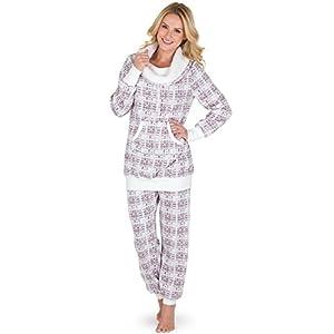 PajamaGram Soft Fleece Pajamas Women – Womens Pajama Sets