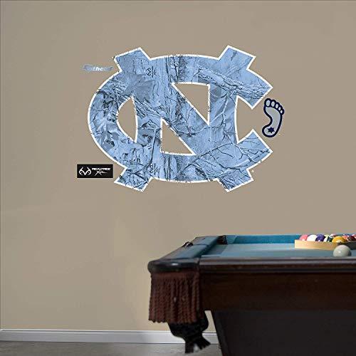 Tar Heels Athletics - Fathead NCAA North Carolina Tar Heels North Carolina Tar Heels Realtree Logo