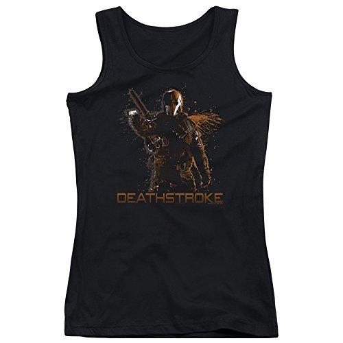 Arrow Deathstroke Women's Sheer Fitted Tank Top