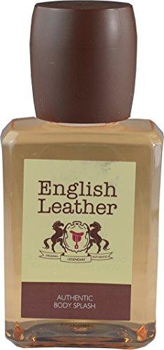 (Dana English Leather Authentic Body Splash For Men 3.4 fl oz - Fragrance Oil - Signature Collection - Unboxed )