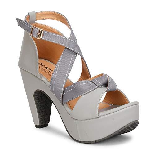 Denill Women Buckle Block Heels